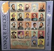 Bits And Pieces Famous Figures People Of The Civil War Puzzle 1500 Unique Pieces