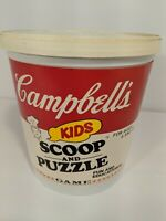 Campbell's Kids - SCOOP AND PUZZLE Game - 1982