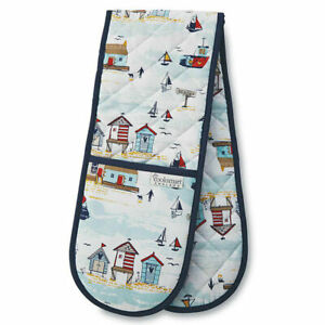Beside The Seaside Double Oven Glove from Cooksmart