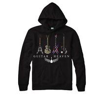 GUITAR HEAVEN HOODIE CLASSIC ROCK HEAVY METAL MUSIC UNISEX ADULT KIDS HOODIE TOP