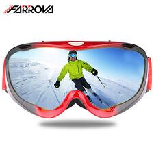 Winter Sports Skiing Snowboard Snowmobile Ski Goggles Double-Lens Anti Fog UV400