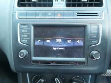 VOLKSWAGEN POLO STEREO RADIO HEAD UNIT COMP MEDIA 6 5IN DISPLAY AUDIO SYSTEM 6