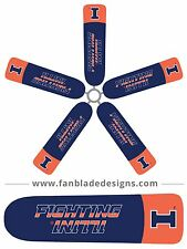 University of Illinois Ceiling Fan Blade Covers