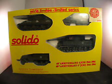 solido coffret A collection militaire 6 juin 1944-1984 half-track Destroyer Tige