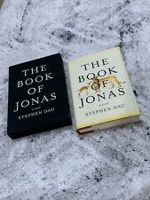 Signed 1st ~ The Book of Jonas by Stephen Dau ~ Slipcase, Psychological Fiction