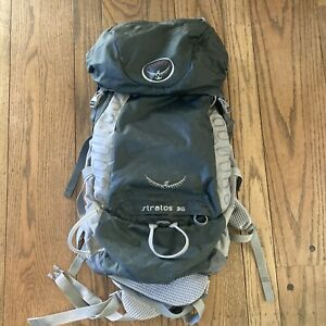 Osprey Stratos 36 litre Lightweight Backpack Day Pack Backpacking PackAirspeed