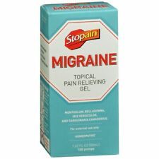 Stopain Migraine Topical Pain Relieving Gel - 1.62 OZ