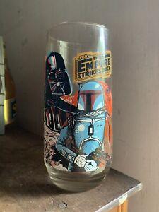 Coca Cola Darth Vader Empire Strikes Back Glass