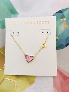 Kendra Scott Heart Necklace NWT