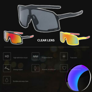 Outdoor Sport Sunglasses Bike Cycling Glasses MTB Goggles Bicycle UV400 Eyewear
