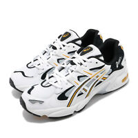 Asics Gel-Kayano 5 OG White Black Yellow Men Classic Running Shoes 1021A163-100