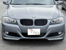 Front Bumper Splitters For 2009-2011 BMW E90 3-Series LCI Sedan (UNPAINTED) NEW