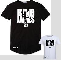 Lebron James T Shirt NBA LA Lakers Basketball Heat Cavaliers Jordan Kobe