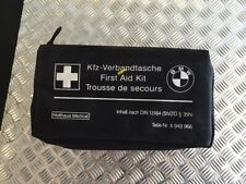 BMW Universal First Aid Emergency Medical Kit Pouch Black 6 949 966 / 6949966...