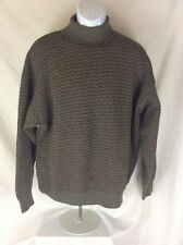 LUCIANO BARBERA Turtleneck Sweater Size 52/M Retail $1295 Designer Hipster Look