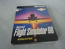 PC CD-ROM Game Big Box - Flight Simulator 98 - Microsoft - NO CD-ROM