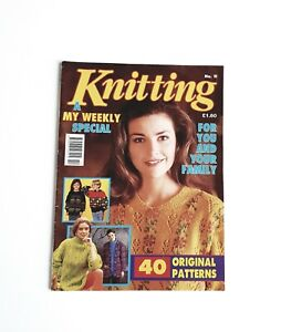Knitting A My Weekly Special No.11 For You And Your Family Autumn Winter 1992 VG