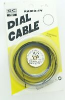 VINTAGE OLD RADIO TV TELEVISION  25 FT NYLON DIAL CABLE 75-A-25