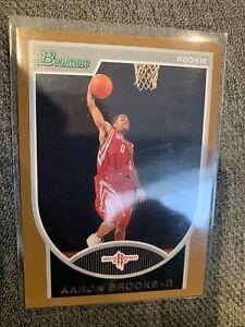 2007-08 Bowman Copper #149 Aaron Brooks Rookie 34/399 Rockets RC