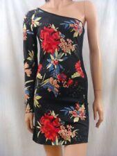 Cotton Blend Floral Dresses Bodycon Dress