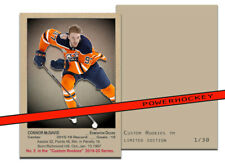 NEW Custom CONNOR McDAVID 1951-52 Style High Quality card only 30 made!! Oilers