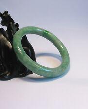 100% natural green jade bangle 56mm*9mm