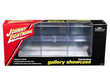 6 Car Interlocking Acrylic Display Show Case for 1/64 Scale Model Cars by Johnny