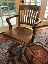 Vintage 1933 Johnson Chair Company Swivel Chair Walnut- Excellent Condition