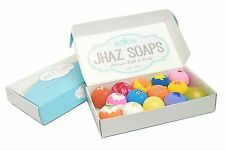 Bath Bomb Lot Gift fizzy pack of 14 assorted color and scents Like Lush DRY SKIN