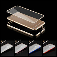 NEW Luxury Aluminum Ultra-thin Mirror Metal Case Cover for iPhone 6 4.7 Plus 5.5