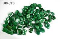 Green Emerald Loose Gemstone Lot 500 Carat Natural Mix Shape Brazilian