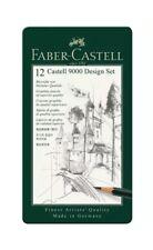 FABER Castell 9000 matite Design Set 12 Grade TIN (5B - 5 H)