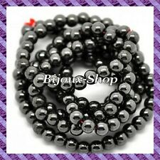 50 pcs Perles Hématite (Non Magnétique) 8mm coloris hématite