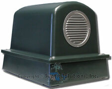 SEPTIC AIR PUMP HOUSING COVER AND BASE FREE SHIPPING