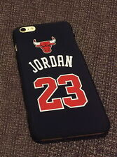 NBA stars Jordan 23 matte plastic PC case for Iphone6 plus Black
