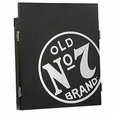 Jack Daniels Old No. 7 Dartboard Cabinet Set