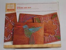 STRAND NEW HAND MADE MODERN STRING ART KIT Free Shipping