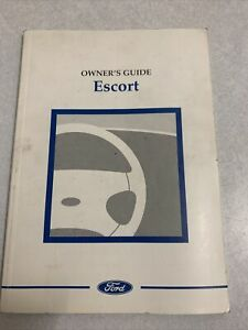 Ford Escort Owners Guide (Handbook) 1997