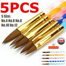 Nail Art Pen Brush UV Gel Acrylic Painting Drawing Liner Polish Brushes Tips UK