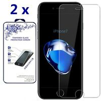 [2-Pack] For Apple iPhone 7 Premium Tempered Glass Screen Protector 0.26mm 9H