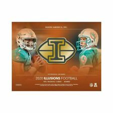 2020 Panini Illusions Football Factory Sealed Hobby Box Presale 7/11 release