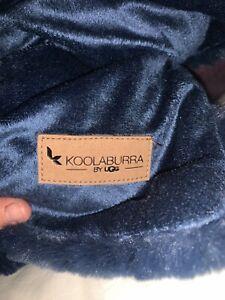 koolaburra by ugg Sherpa/ Fleece Throw Soft And Warm NWOT