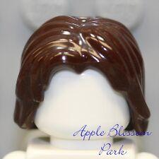 NEW Lego Minifig DARK BROWN Prince Dastan Long Male Boy Female Girl Short Style