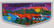 OA Lodge 221 Muscogee S19b Flap (1991); PB  [R348]