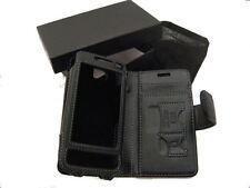 Leather Flip Case for Samsung SGH-i900 Omnia Horizon Smart Phone Black