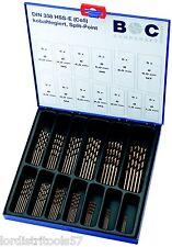 Coffret 65 forets HSS-E Cobalt 1 à 6 mm BOHRCRAFT Métal-Box  - ME 65