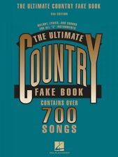 The Ultimate Country Fake Book 5th Edition Sheet Music C Instruments R 000240049