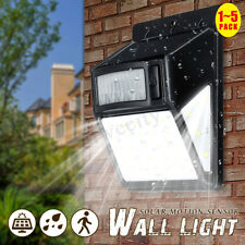 35LED Solar Power Light PIR Motion Sensor Waterproof Garden Outdoor Wall  ~