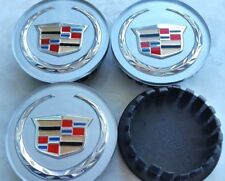 4 pcs, Cadillac, Wheel Emblem Center, Hub Cap, 66MM, Sliver Color Crest.