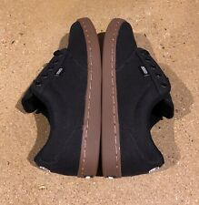 DVS Inmate Black Canvas Size 5 US Men's BMX DC Skate Shoes Sneakers Deadstock